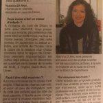 Ouest France - Interview Choeur d'Enfants