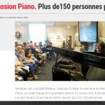Le Télégramme - Passion Piano 2018